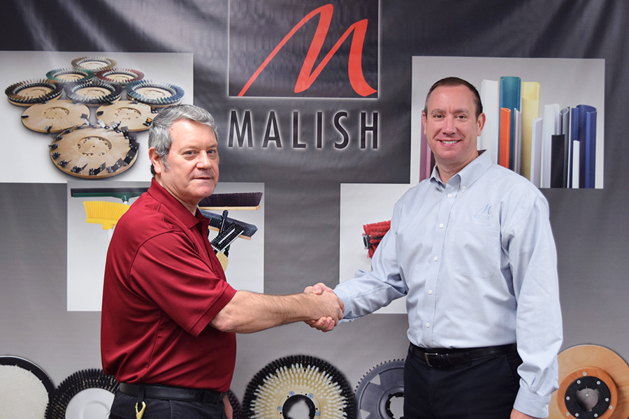 The Malish Corp. Honors Employee